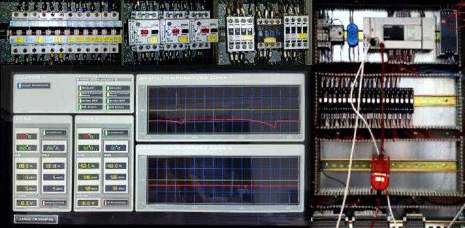 Sistem de monitorizare și control al procesului de călire și revenire  termică pentru unelte pentru prelucrări prin așchiere (burghie, alezoare, freze  HSS & HSSCo).