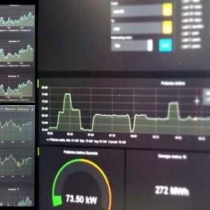 Monitorización parámetros consumo energía eléctrica